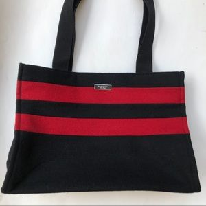 Kate Spade Black and Red Tote Zip Purse